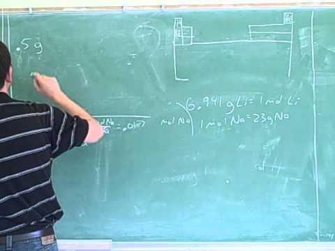 Stoichiometry. Atoms, molecules, moles (11)