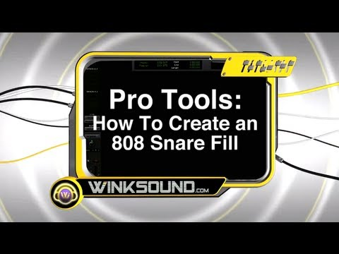 Pro Tools: How To Create an 808 Snare Fill