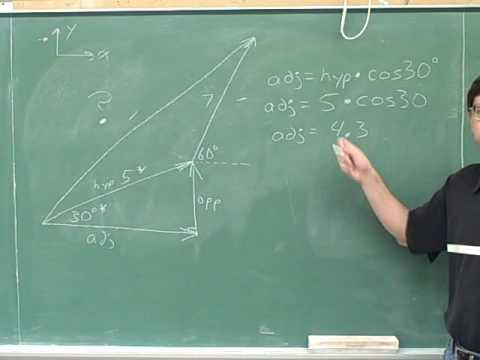 Physics: Vector components (83)