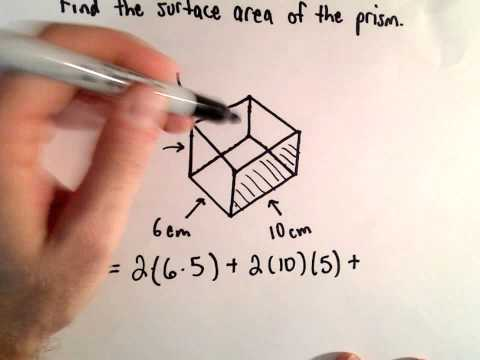 Surface Area of a Prism (A box)