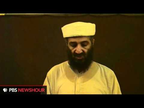 Newly released video of Osama bin Laden