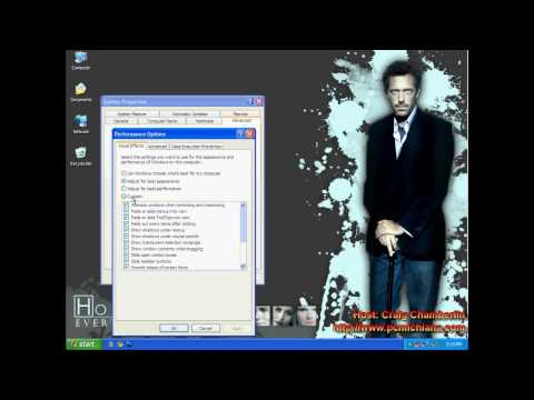 Speed Tip 3: Disable Visual Effects Unnecessary in Windows XP   Hello World!