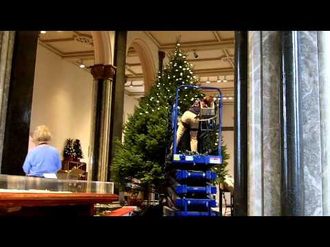 Smithsonian Christmas Tree Time Lapse