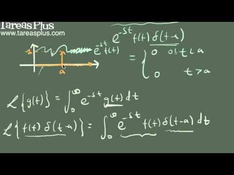 Transformada de laplace de la función Delta de Dirac