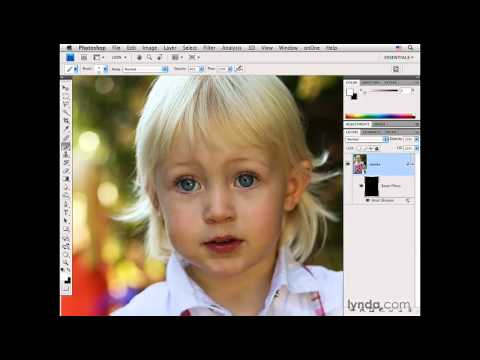 Photoshop: Sharpening pt: 2: Using Smart Sharpen | lynda.com