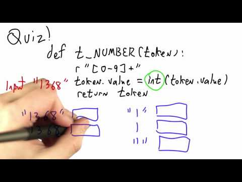 Token Values Solution - CS262 Unit 2 - Udacity