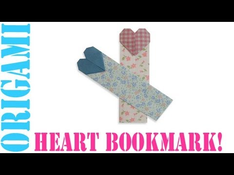 Origami Daily - 067: Valentines Day Heart Bookmark - TCGames [HD]
