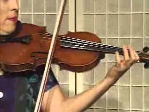 Violin Violin Song Demonstration - Main Melody and Fingering to Cripple Creek