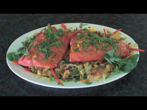 Whole Foods Market Fridays - Wild Salmon with Thai Curry Slaw