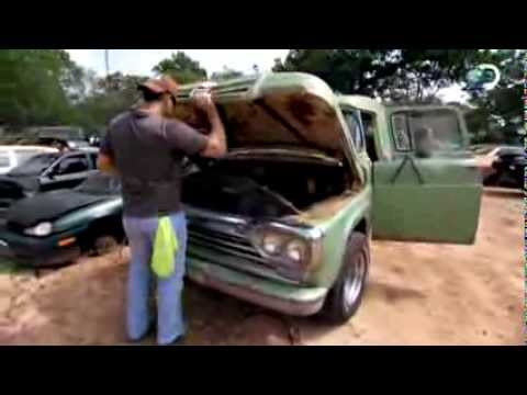 Old Panel Truck | Texas Car Wars