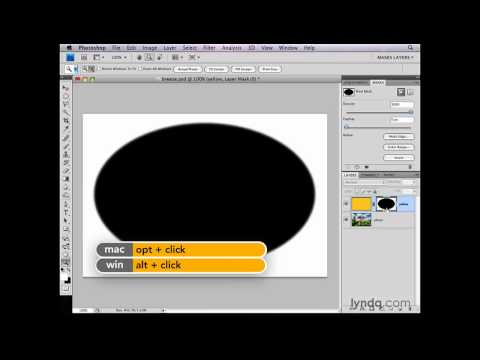 Photoshop: What is a layer mask? | lynda.com
