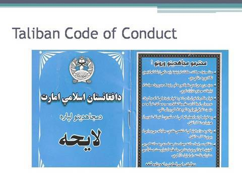 The Taliban Code of Conduct - Annyssa Bellal
