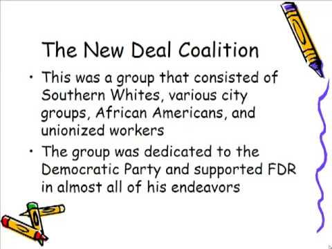 Schmidt Notes - US History - Unit 5 - The New Deal Affects Many Groups (Chapter 15.3)
