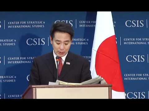 Statesmen's Forum: Seiji Maehara, Minister for Foreign Affai