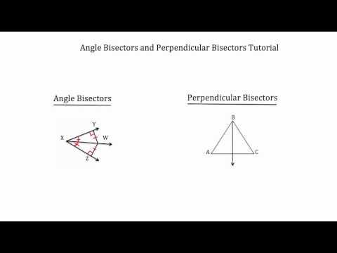 Perpendicular Bisectors- Triangle Properties