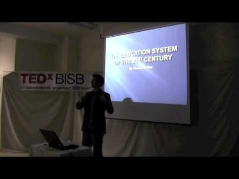 TEDxBISB Mario Gruber The future of education