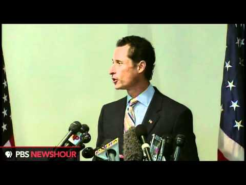 Weiner Says He's Resigning, Apologizes for Scandal