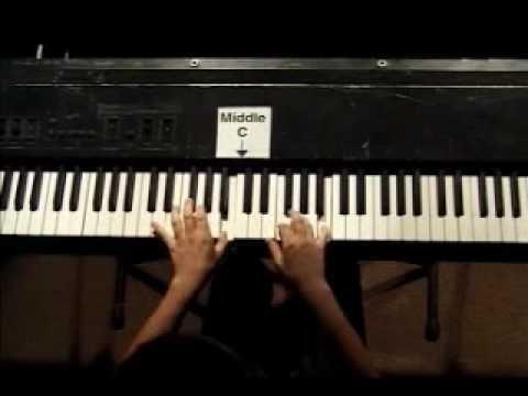 Piano Lesson - Hanon Finger Exercise #9