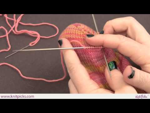 Sock Darning Part 2: How to Repair Holes at the Toe