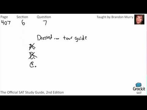 SAT Writing Official Guide Sample Lesson (2/7)