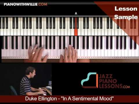 PianoWithWillie.com-ex2-Duke Ellington In A Sentimental Mood (SENTIMENTAL)