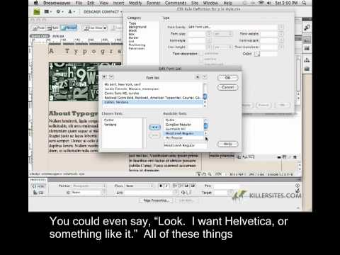 Photoshop for the Web Closed Captioned - Paragraph Tags