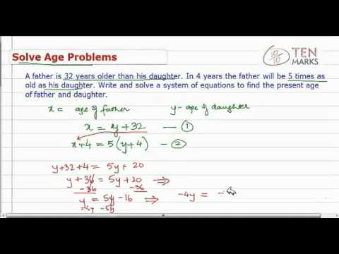 Solve Age Problems
