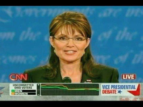 Sarah Palin's wink