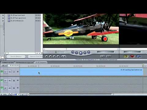 Total Training for Final Cut Pro 5:  Ch2 L4 Adding Clips to the Timeline & Closing Gaps