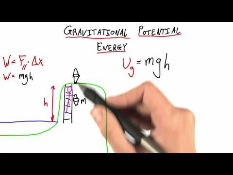 Potential Energy Reference Points - Intro to Physics - Work and Energy - Udacity