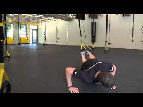 TRX Cool Combo: Oblique Crunch With Rotated Push-up