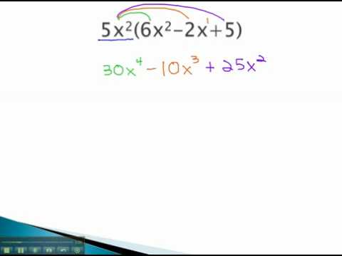 Polynomials - Multiply by Monomial - YouTube.mp4