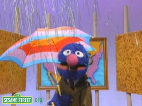 Sesame Street: Grover Weather Monster