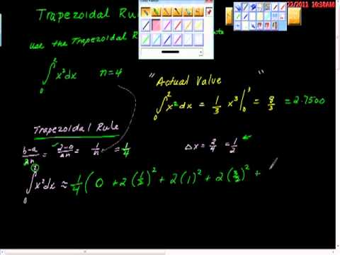 Trapezoidal Rule One AP Calculus