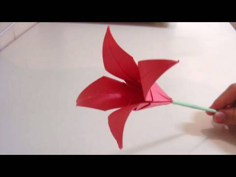 Origami Flower - Lily
