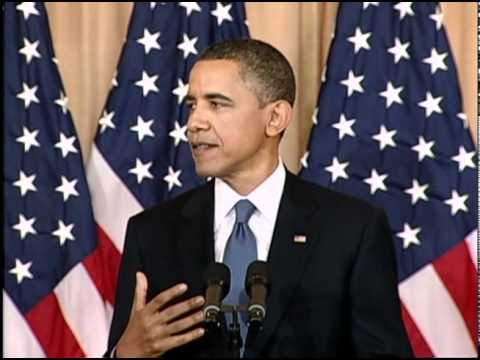 President Obama: Non-violent Movements Creating Change (Arabic)