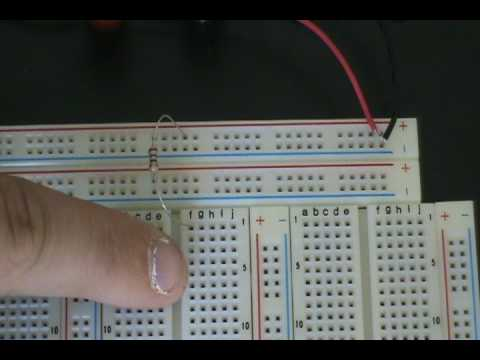 Robotics and Electronics Tutorial - 16 - Breadboard Circuit