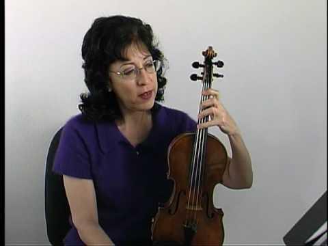 "Violin Lesson - Song Demo - ""Twinkle Twinkle"" in B major"