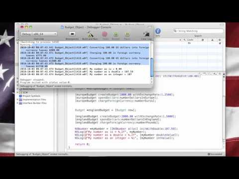 Objective-C Tutorial - Lesson 22: Part 2: Coding The NSNumber Object