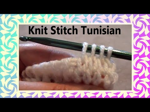 The Art of Crochet by Teresa - Tunisian Knit Crochet Stitch