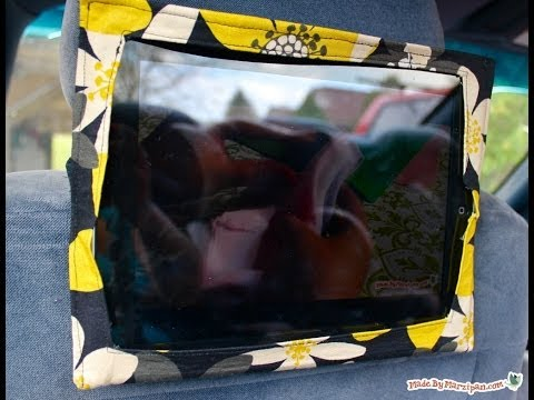 Sew an iPad Headrest Holder