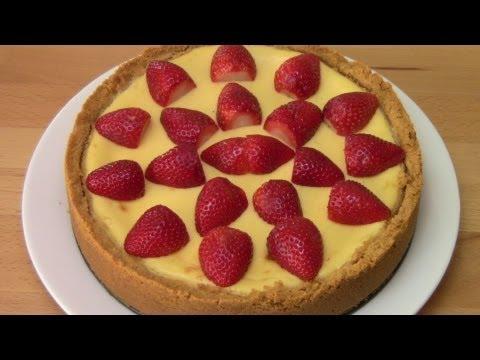 New York Baked Cheesecake - RECIPE