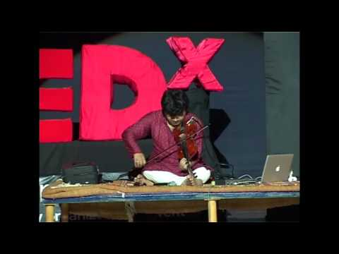 The reinvention of canatic music: Kumaresh at TEDxNITKSurathkal