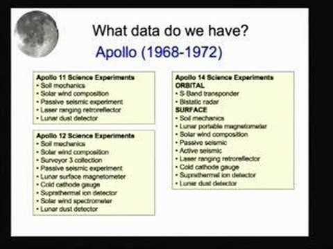 The Lunar Database: Supporting Lunar Landing Site...