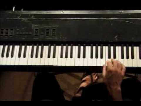 Piano Lesson - Descending Chromatic (12-tone) Scale