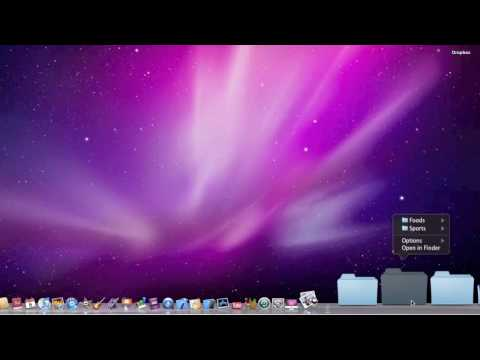 Stacks in Mac OSX Snow Leopard (in under a minute)