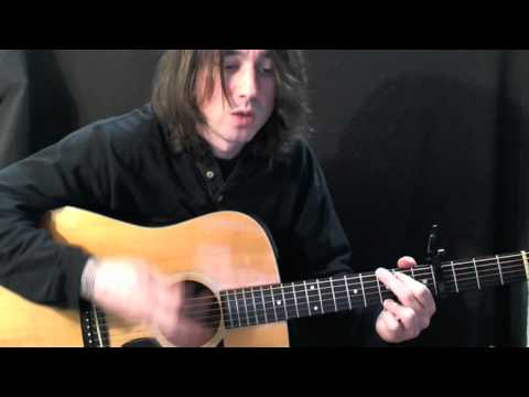 The Only Exception guitar lesson