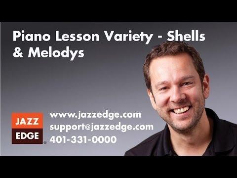 Piano Lesson Variety - Shells & Melodys