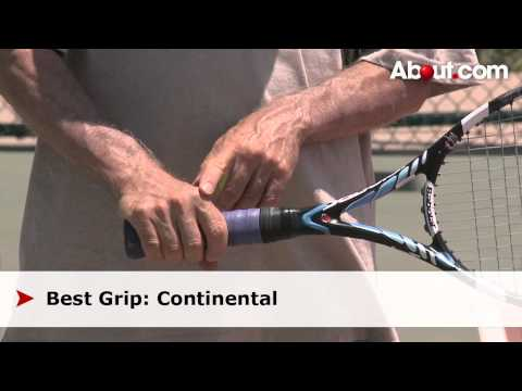 Tennis Lessons   How to Hit a Topspin-Slice Serve