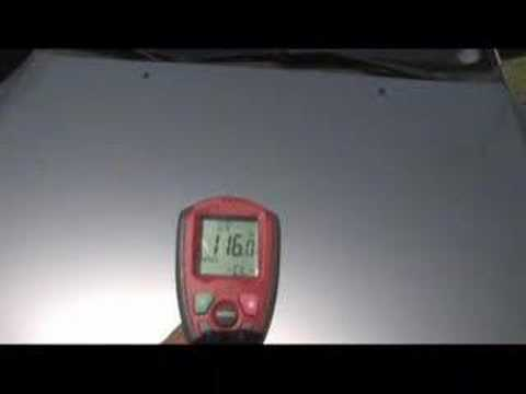 SUN SOLAR CAR BODY TEMPERATURE IR THERMOMETER INFRA